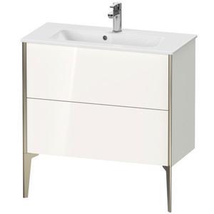 Duravit - Vanity Unit Floorstanding Compact, White High Gloss (decor)