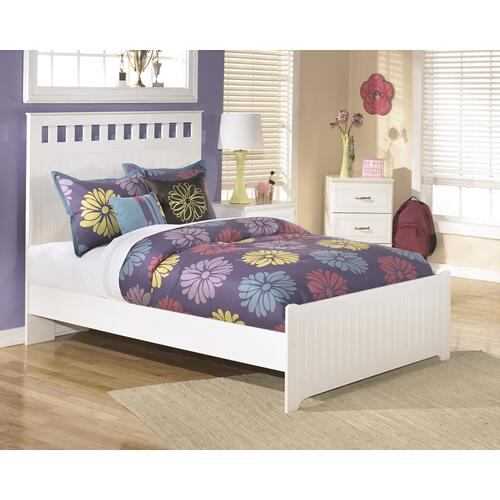 B102 Full Panel Bed (Lulu)