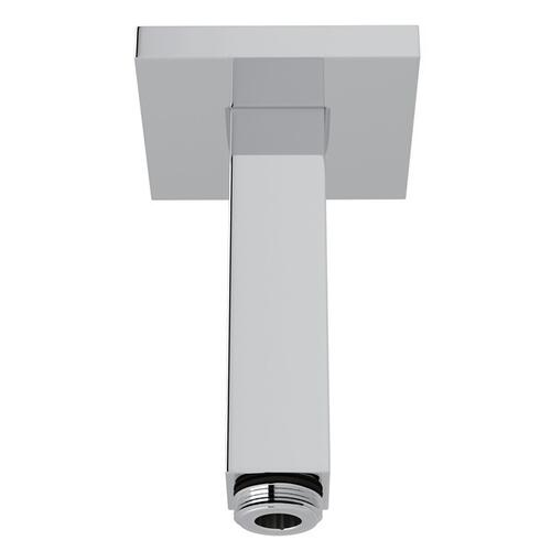 "Polished Chrome 3"" Modern Square Ceiling Mount Shower Arm"