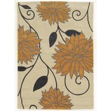 Trio Floral Must/grey 5ft X 7ft