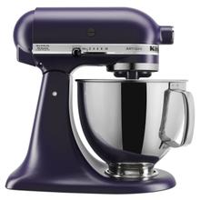 Artisan® Series 5 Quart Tilt-Head Stand Mixer Matte Black Violet