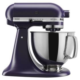 Artisan® Series 5 Quart Tilt-Head Stand Mixer Matte Black Violet