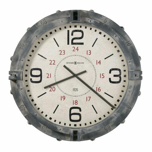 Howard Miller - Howard Miller Seven Seas Metal Wall Oversized Clock 625659