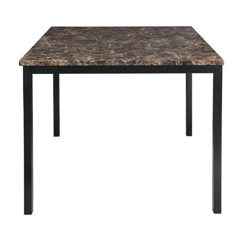 Gallery - Counter Height Table, Faux Marble Top