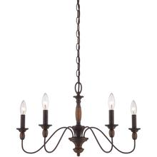 View Product - Holbrook Chandelier in Tuscan Brown
