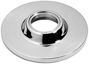 "Satin Chrome Concealed fix rose, 2 1/4"" diameter"