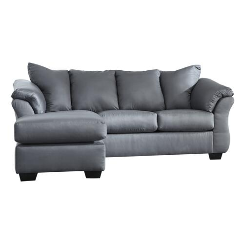 Darcy Sofa Chaise Steel