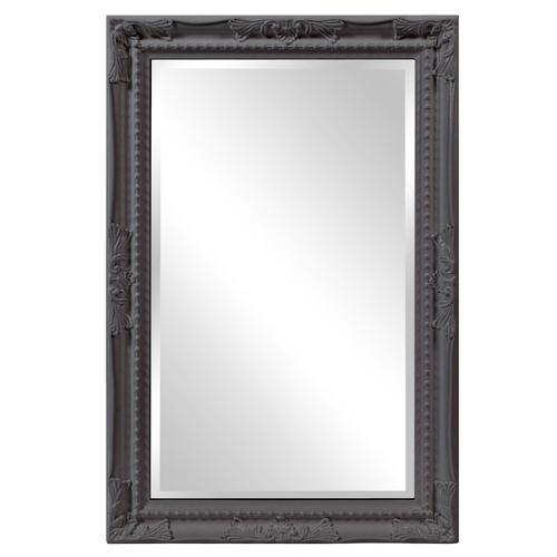 Howard Elliott - Queen Ann Mirror - Glossy Charcoal