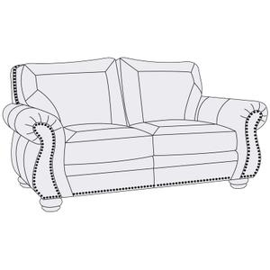 Breckenridge Loveseat in Brandy (703)