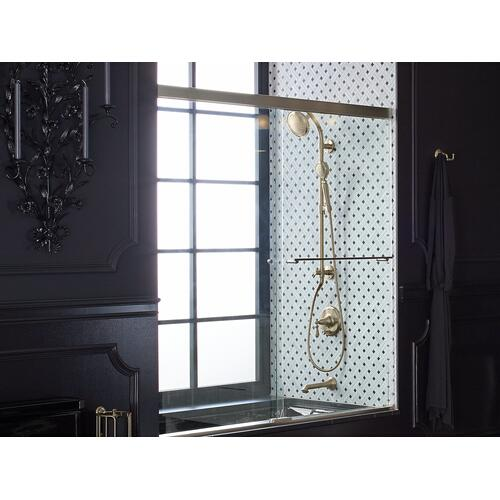 Matte Black Bath/shower Column