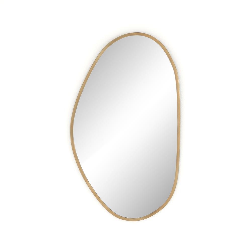 Brinley Mirror-antique Brass