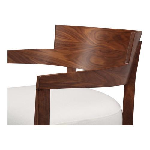 Volta Arm Chair Cream White