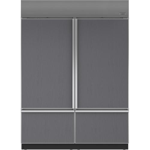 """Sub-Zero - Dual Installation Kit with 60"""" Louvered Grille"""