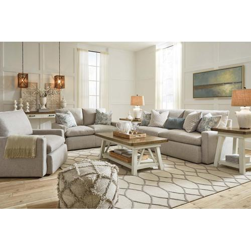 Melilla Sofa & Loveseat Ash