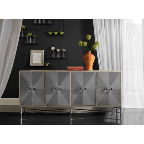 Living Room Melange Zola Four-Door Credenza