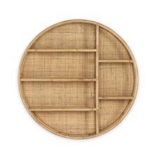See Details - Nomi Wall Shelf-natural Rattan