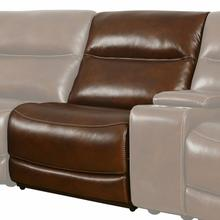 See Details - COLOSSUS - NAPOLI BROWN Power Armless Recliner