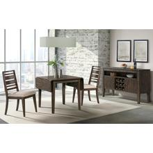 See Details - 3 Piece Set (Drop Leaf Table and 2 Side Chairs)