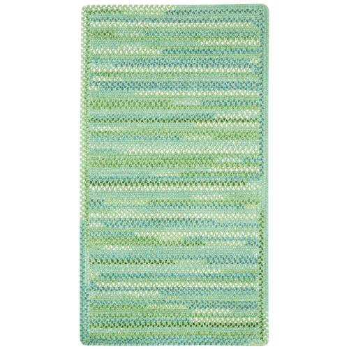 Sailor Boy Sea Monster Green Braided Rugs (Custom)