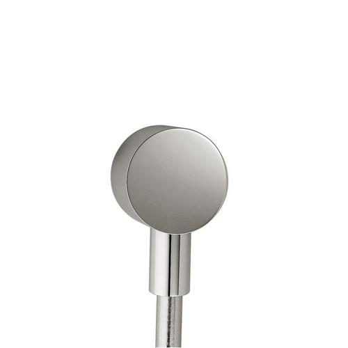 Polished Nickel Wall outlet round