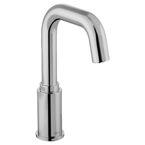 American Standard - Serin Deck-Mount Proximity Faucet, Battery Powered - Brushed Nickel