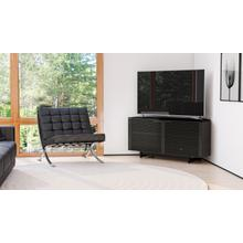 View Product - Corridor 8175 Corner Media Cabinet in Charcoal Stained Ash