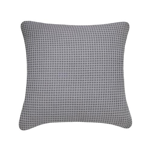 Waffle Cushion - White u0026 Navy / Cover Only