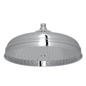 "Polished Chrome 12"" Bordano Rain Anti-Calcium Showerhead Product Image"
