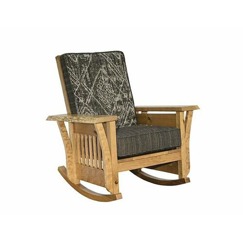 Rustic Edge Rocker