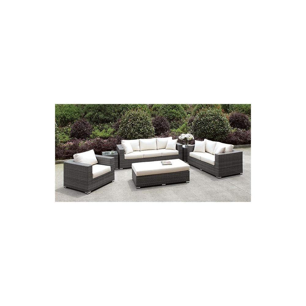 Somani 3 PC SET + BENCH + 2 End TableS