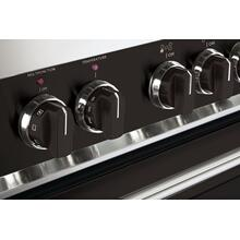 Color Knob Set for Designer Single Oven Dual Fuel Range - Black