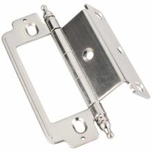 """See Details - 270° Partial Wrap for 3/4"""" Frame x 3/4"""" Door, Inset Flush, Minaret Tip Hinge - 4"""" Overall Height"""