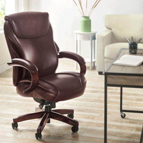 Gallery - Hyland Executive Office Chair, Chestnut Brown