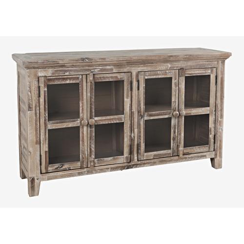 Jofran - Rustic Shores 4 Door Low Cabinet