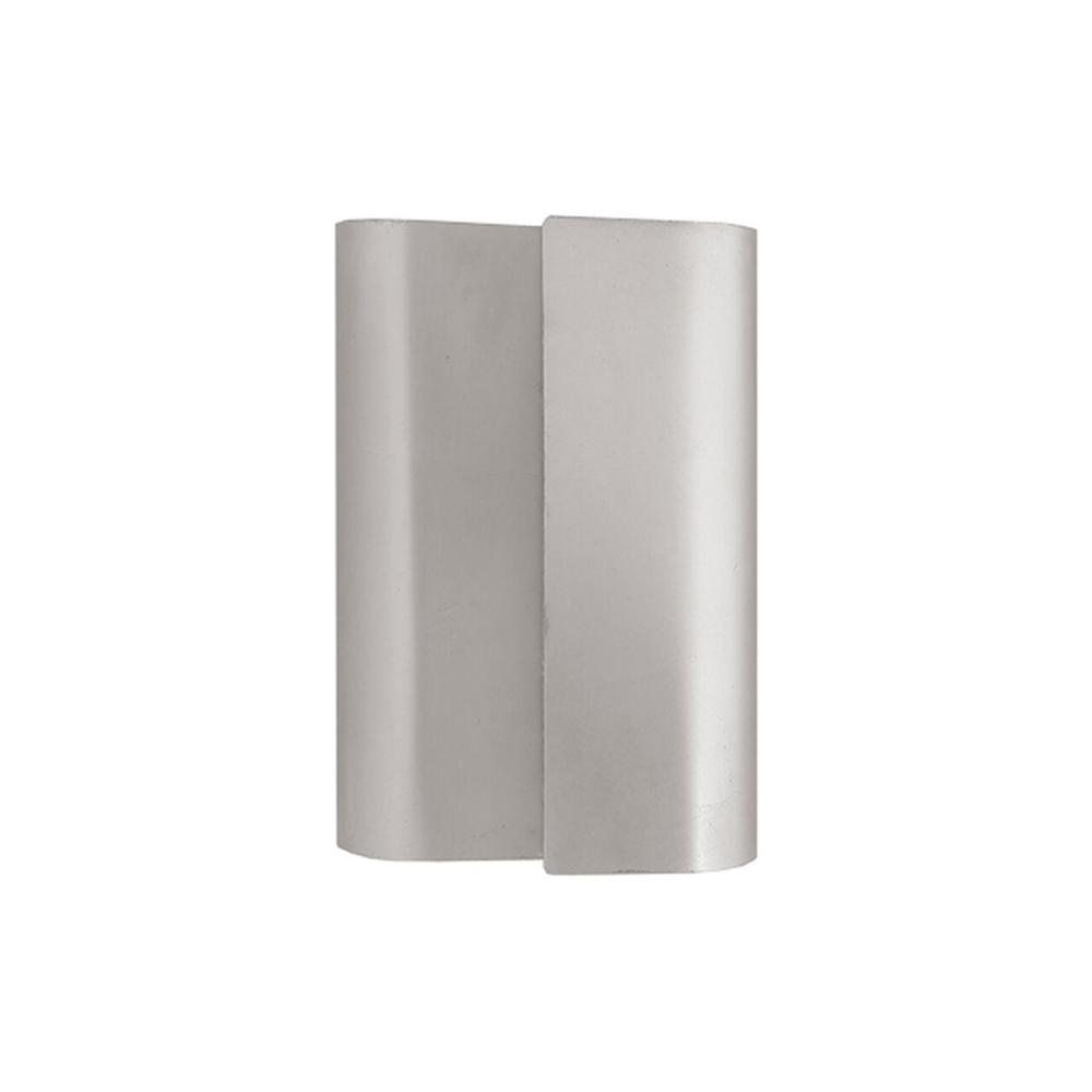 Like A Ribbon Spun From Pure Silver, Our Sculptural Linden Sconce Adorns Your Walls With A Wash of Sterling Light. Features Metal Fixture With Hand-applied Silver Leaf Finish.
