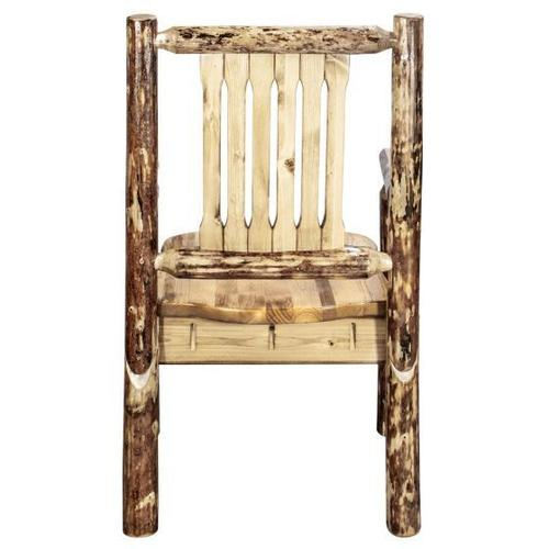 Montana Woodworks - Glacier Country Collection Captains Chair