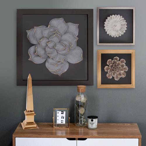 Howard Elliott - Lotus Flower Wood Wall Art