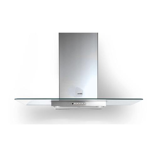 "36"" glass wall hood"