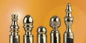 Decorative Hinge Finials in Finial Options Product Image