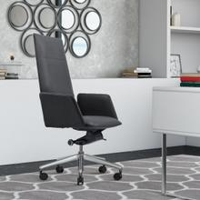 See Details - Modrest Tricia - Modern Black High Back Executive Office Chair