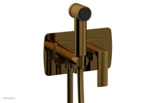 RADI Wall Mounted Bidet, Lever Handle 181-65 - French Brass Product Image
