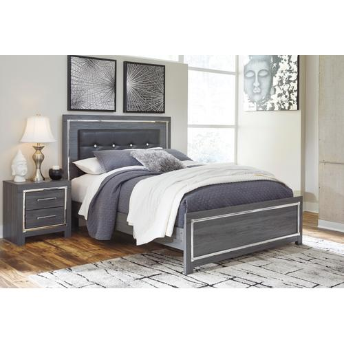 Lodanna - Gray 3 Piece Bed Set (Queen)