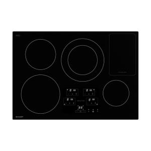 30 in. Width Induction Cooktop, European Black Mirror Finish Made with Premium SCHOTT® Glass Product Image