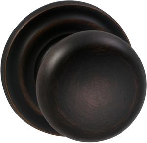 Interior Traditional Knob Latchset in (TB Tuscan Bronze, Lacquered) Product Image