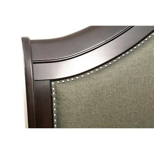 Gallery - California King Sleigh Platform Bed