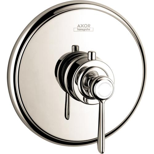 AXOR - Polished Nickel Thermostatic Trim HighFlow with Lever Handle