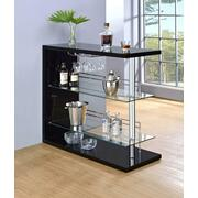 Contemporary Black Bar Unit Product Image