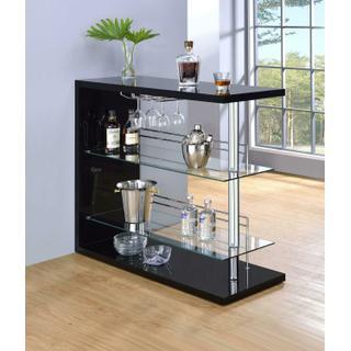 Product Image - Contemporary Black Bar Unit