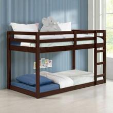 ACME Gaston Loft Bed - 38185 - Contemporary - Wood (Solid Pine) - Espresso