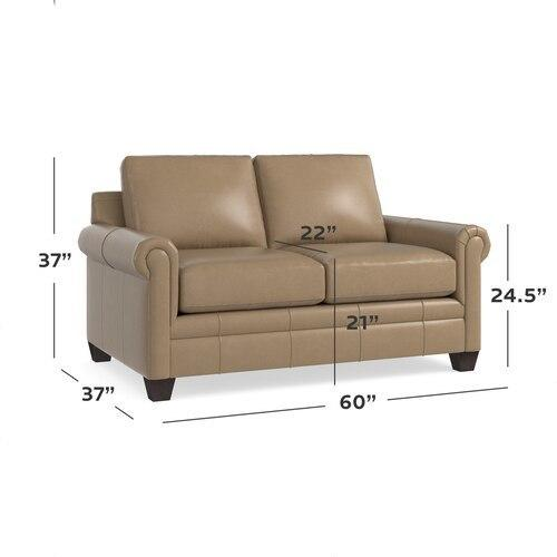 CU.2 Leather Loveseat